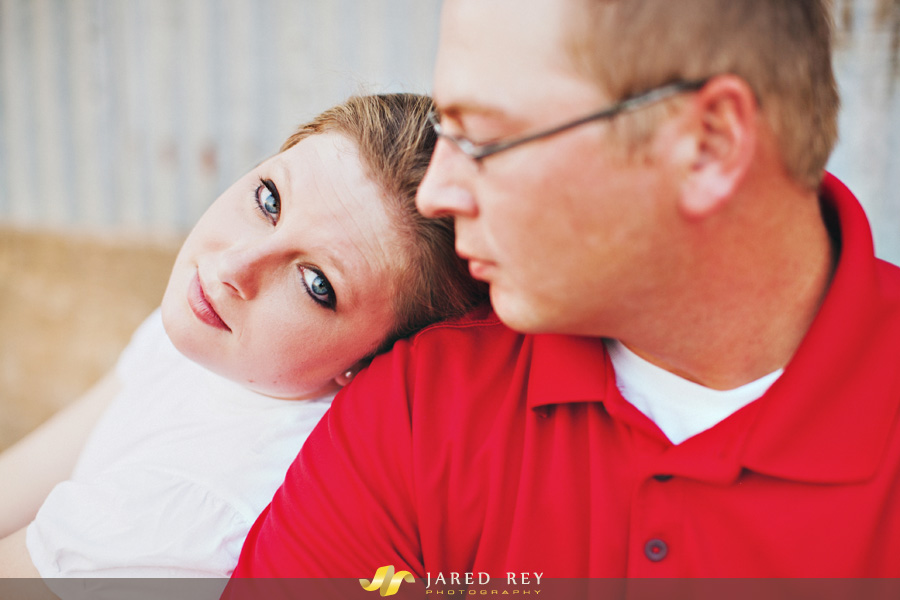Phillip and Julie Lake Downtown Mckinney Engagement Session