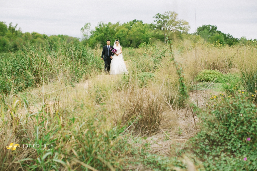 Justin and Stephanie Earl Married at the Trinity River Audubon Center in Dallas (23)