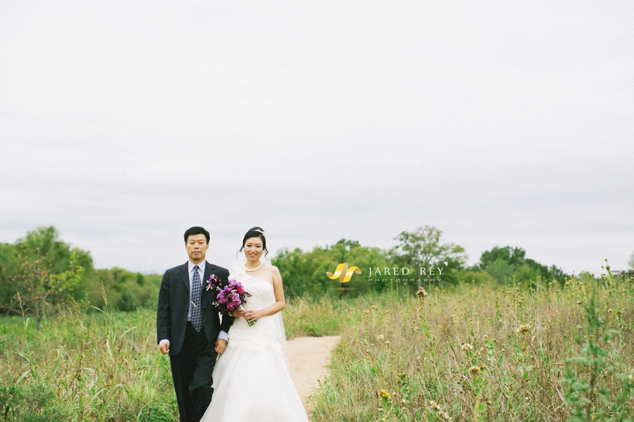 Justin and Stephanie Earl Married at the Trinity River Audubon Center in Dallas (22)