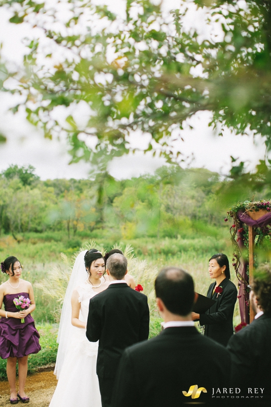 Justin and Stephanie Earl Married at the Trinity River Audubon Center in Dallas (17)