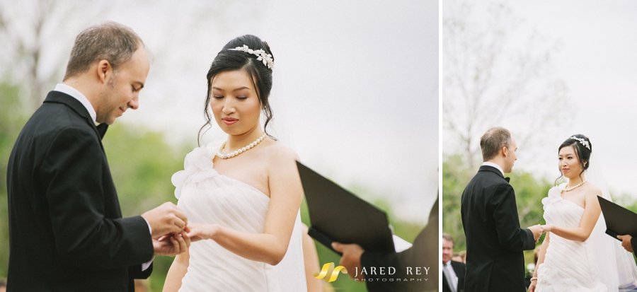 Justin and Stephanie Earl Married at the Trinity River Audubon Center in Dallas (11)