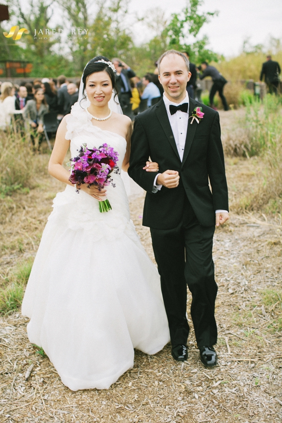 Justin and Stephanie Earl Married at the Trinity River Audubon Center in Dallas (4)