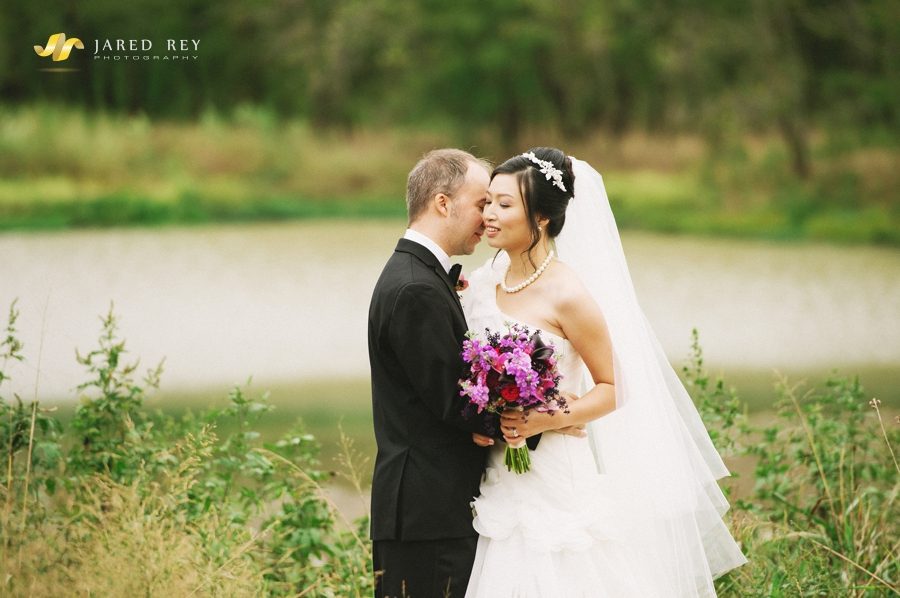 Justin and Stephanie Earl Married at the Trinity River Audubon Center in Dallas (26)