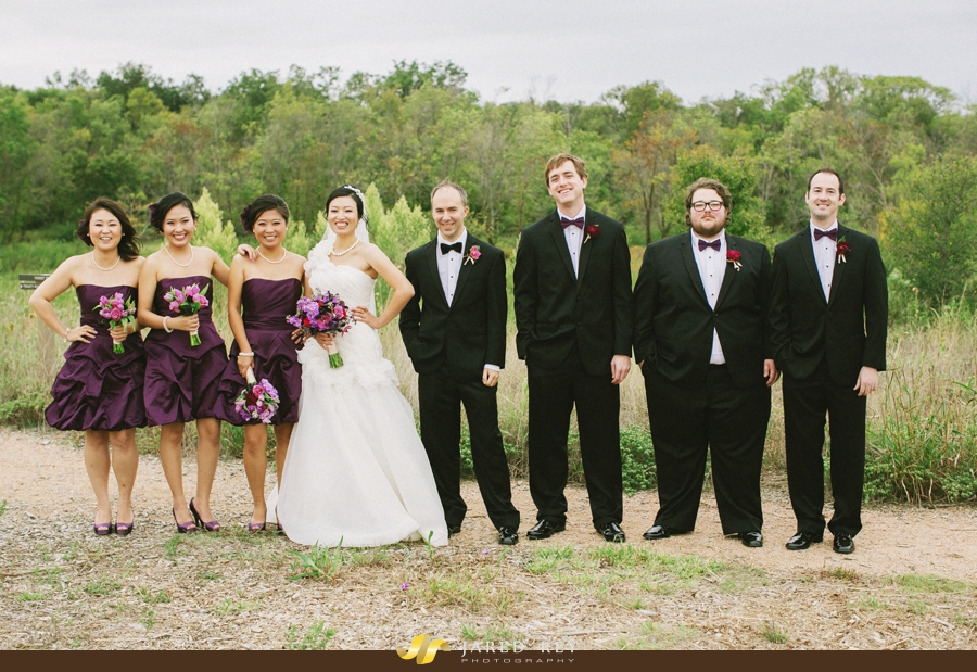 Justin and Stephanie Earl Married at the Trinity River Audubon Center in Dallas (20)