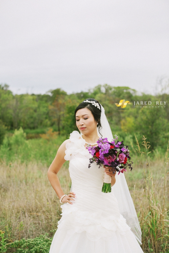 Justin and Stephanie Earl Married at the Trinity River Audubon Center in Dallas (16)