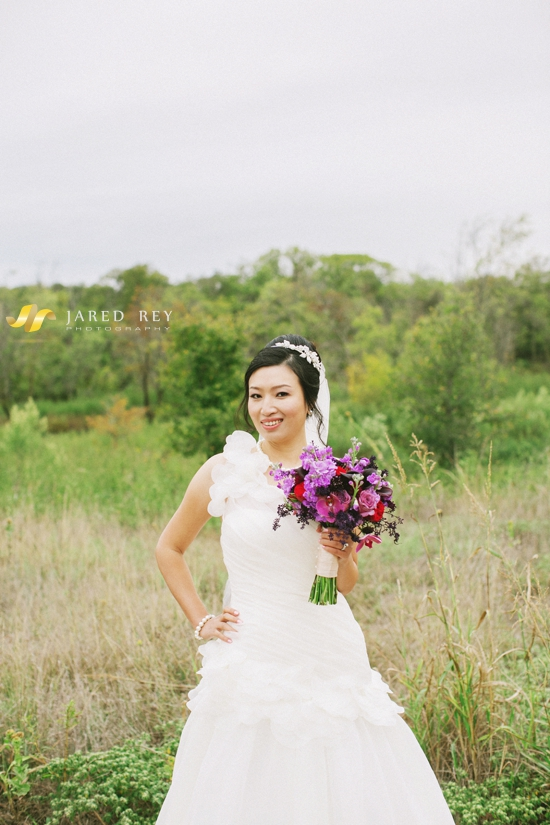 Justin and Stephanie Earl Married at the Trinity River Audubon Center in Dallas (15)