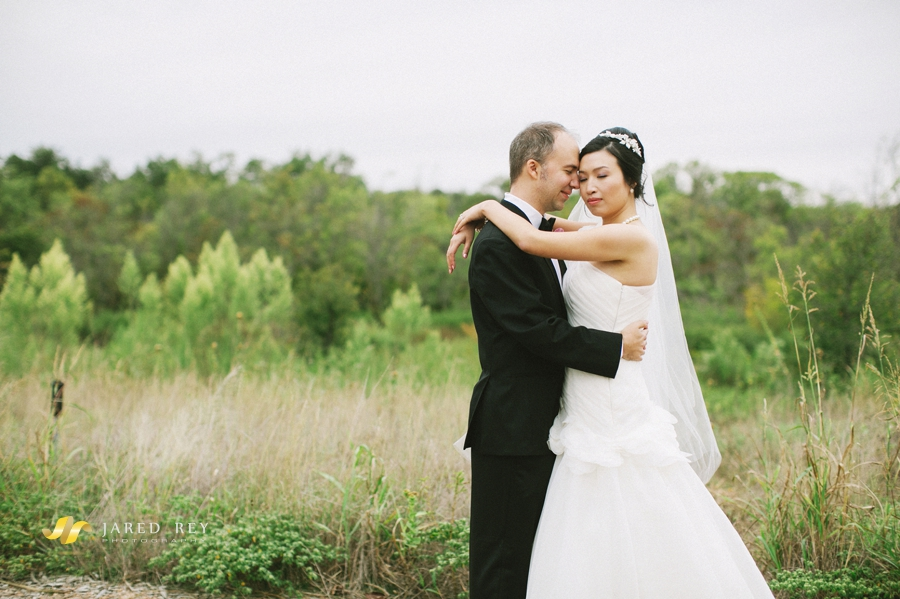 Justin and Stephanie Earl Married at the Trinity River Audubon Center in Dallas (8)