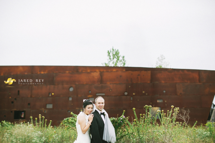 Justin and Stephanie Earl Married at the Trinity River Audubon Center in Dallas (3)