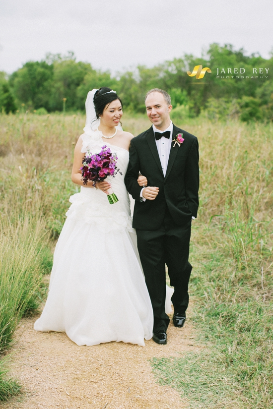 Justin and Stephanie Earl Married at the Trinity River Audubon Center in Dallas (1)