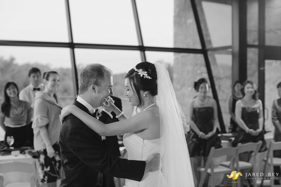 Justin and Stephanie Earl Married at the Trinity River Audubon Center in Dallas (14)