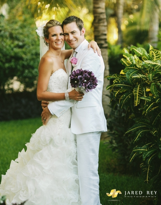 Chad & Ashley's Cancun Wedding