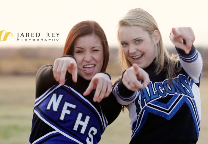North Forney High School Cheer Team Photoshoot